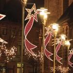 Подсветка зданий, монтаж праздничных гирлянд и декораций Киев