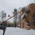 Уборка снега на территории по низким ценам