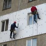Утеплення стін зовні пінопластом. Київ.
